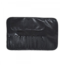 LEATHER CASE FOR 12 BRUSHES