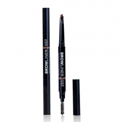 AUTOMATIC EYEBROW PENCIL BROW LINER WITH BRUSH